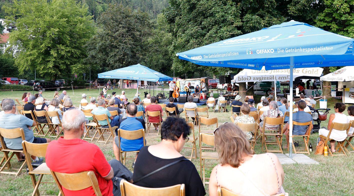 Bardentreff - die verstärkte Hauptbühne diesmal im Stadtpark