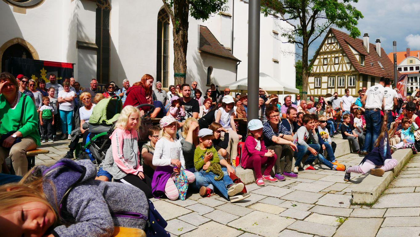 Publikums-Magnet Mittelalter-Event